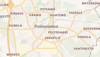 Рийхимяки - детальная карта