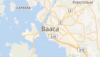Вааса - детальная карта