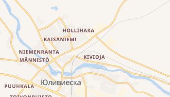 Иливиеска - детальная карта