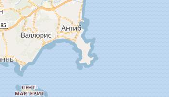 Антиб - детальная карта