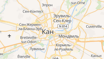 Кан - детальная карта