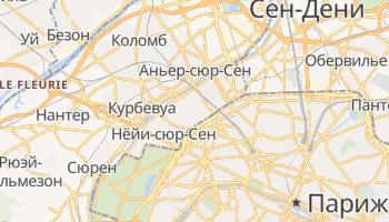 Леваллуа-Перре - детальная карта