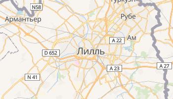 Лилль - детальная карта