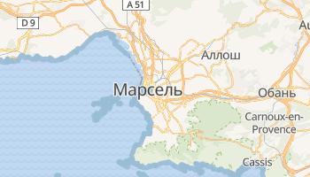 Марсель - детальная карта