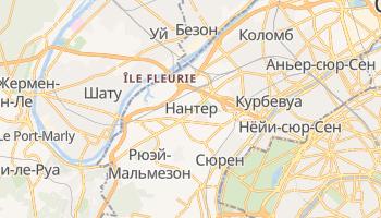 Нантер - детальная карта
