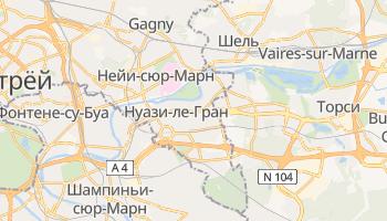 Шумная-ле-Гран - детальная карта