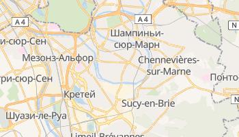 Сен-Мор-де-Фоссе - детальная карта