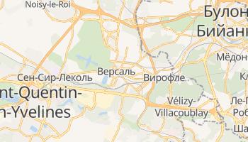Версаль - детальная карта