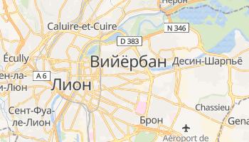 Виллербан - детальная карта