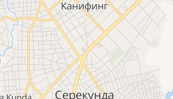 Канифинг - детальная карта