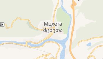 Мцхета - детальная карта