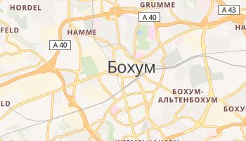 Бохум - детальная карта