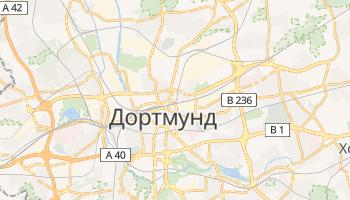 Дортмунд - детальная карта