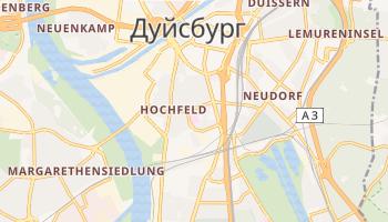 Дуйсбург - детальная карта