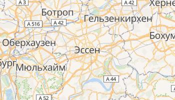 Эссен - детальная карта