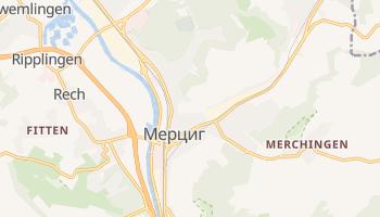 Мерциг - детальная карта