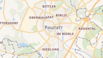 Раштатт - детальная карта