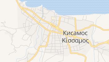 Кисамос - детальная карта