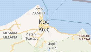 Кос - детальная карта