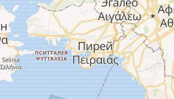 Пирей - детальная карта