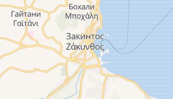 Закинф - детальная карта