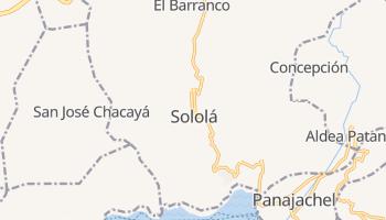 Солола - детальная карта