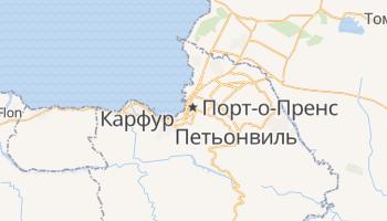 Порт-о-Пренс - детальная карта