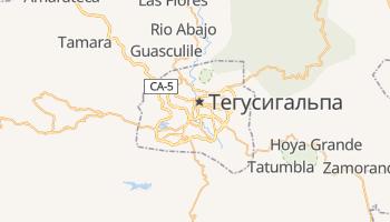 Тегусигальпа - детальная карта