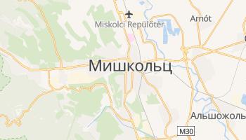 Мишкольц - детальная карта