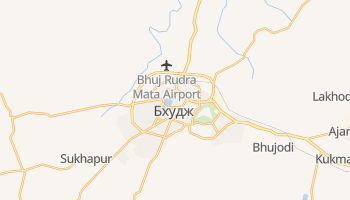 Бхудж - детальная карта