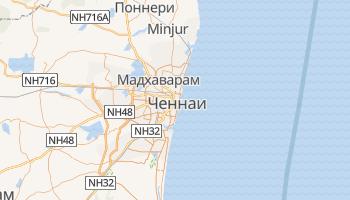 Ченнаи - детальная карта