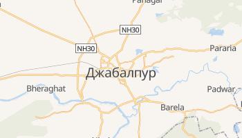 Джабалпур - детальная карта