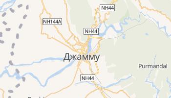 Джамму - детальная карта