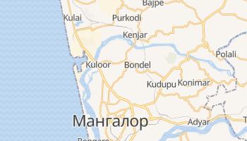 Мангалор - детальная карта