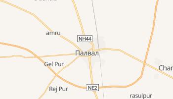 Палвал - детальная карта