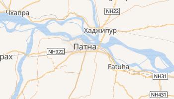 Патна - детальная карта