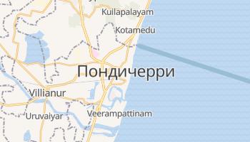 Пудучерри - детальная карта