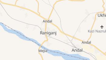Ранигандже - детальная карта