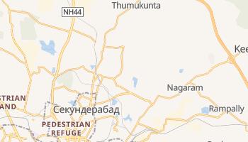 Секундерабад - детальная карта