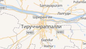 Тируччираппалли - детальная карта