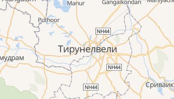 Тирунелвели - детальная карта