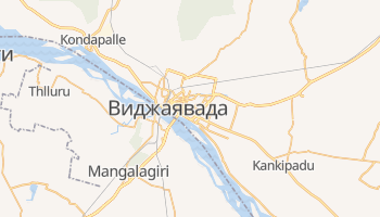 Виджаявада - детальная карта