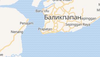 Баликпапан - детальная карта