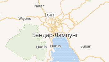 Бандар-Лампунг - детальная карта