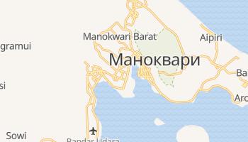 Маноквари - детальная карта
