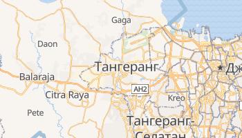 Тангеранг - детальная карта