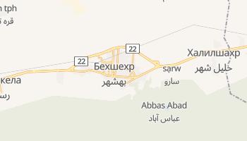 Бехшехр - детальная карта