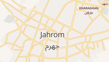 Джехром - детальная карта
