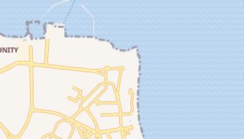 Киш - детальная карта