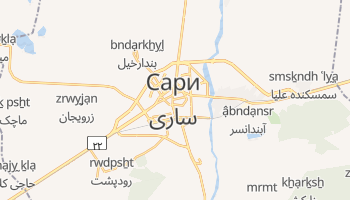 Сари - детальная карта
